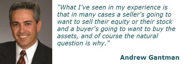 Asset Sales Versus Stock Sales